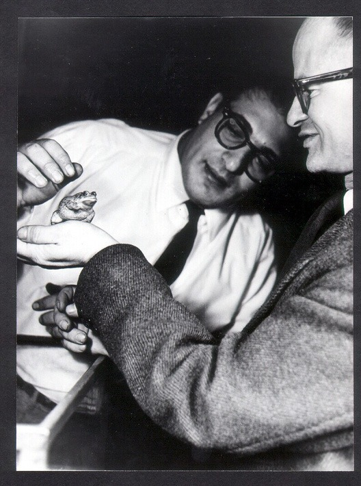 Portrait de Walter Pitts (à droite sur la photo)