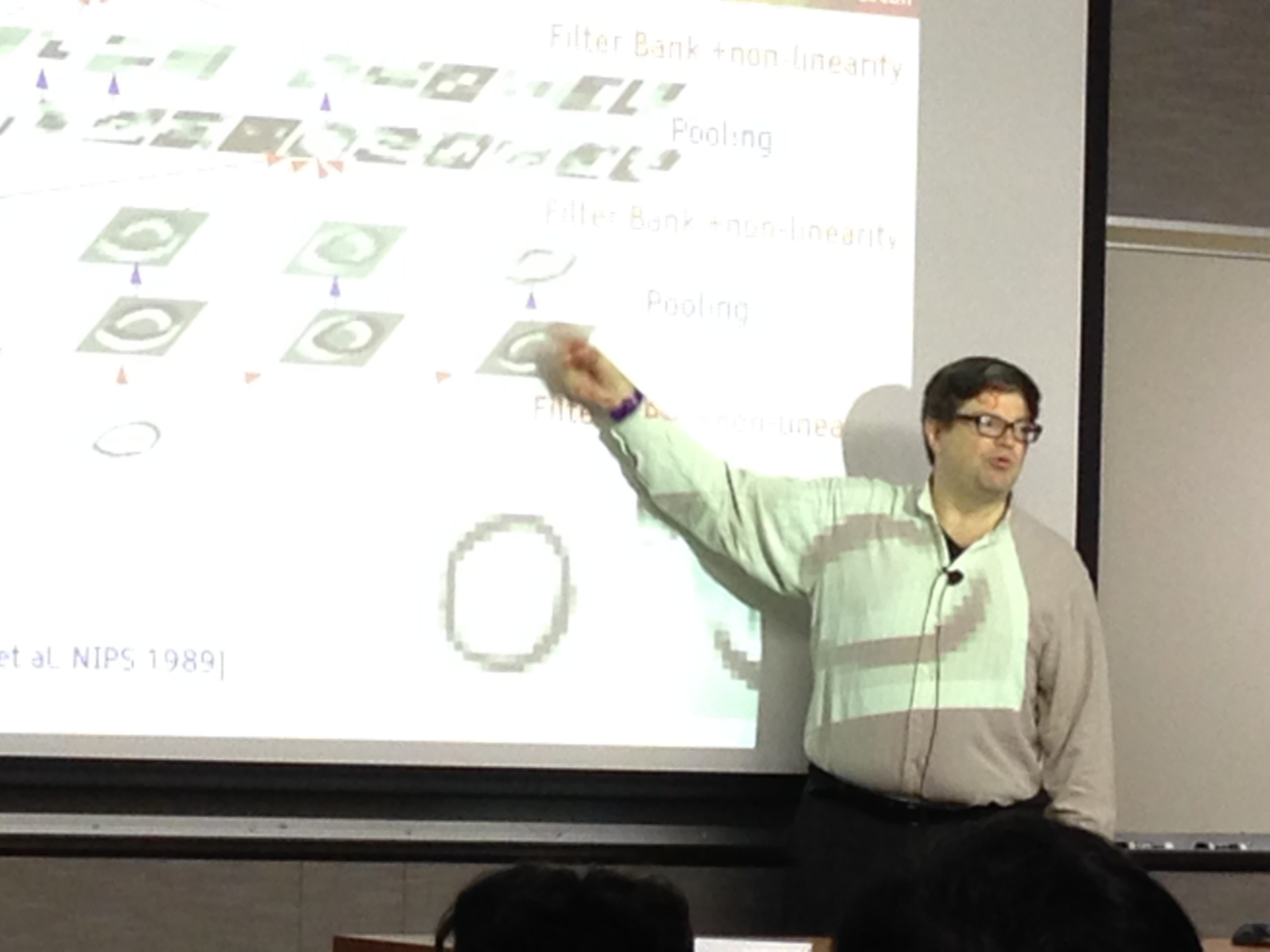 Yann LeCun at the University of Minnesota